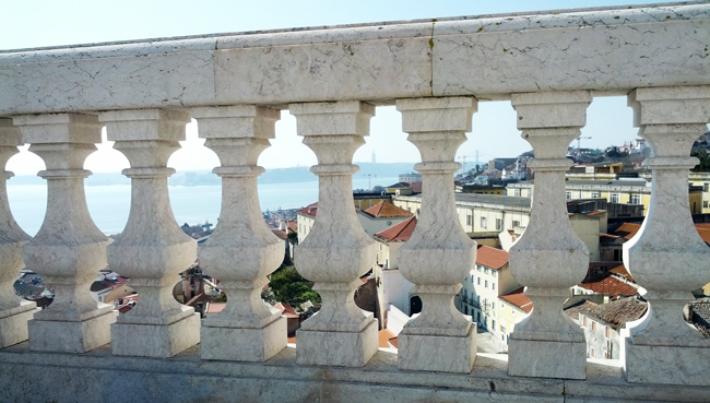View from Panteão Nacional - Lisbon Pantheon - Portugal
