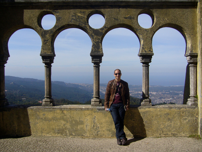View from royal palace - Sintra Portugal
