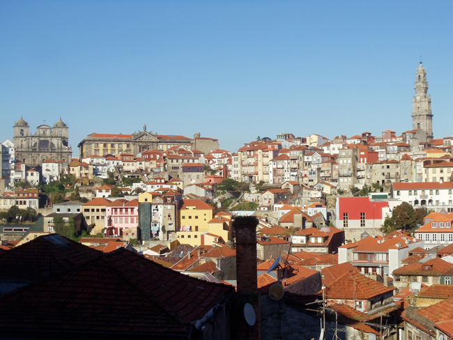 View of Porto from Se Cathedral - Protugal