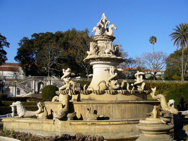 botanical gardens of Ajuda - Lisbon
