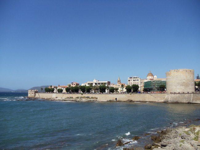 Alghero - Sardinia Old City - Italy