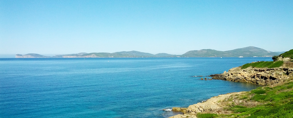 Alghero coast - Sardinia - Panoramic view