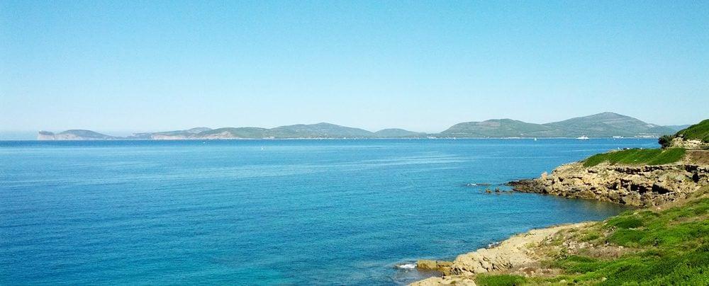 Alghero coast - Sardinia - Panoramic view