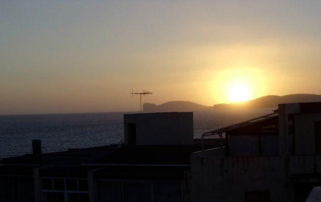 B&B Valencia - Alghero -Italy - sunset