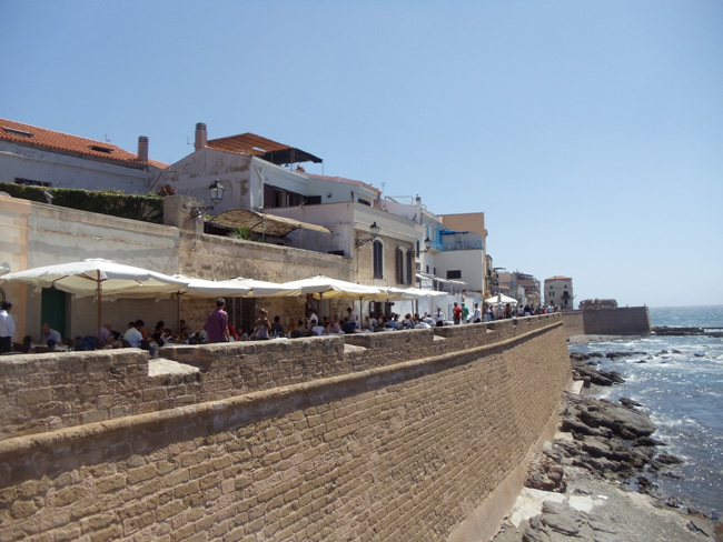 Bastioni Marco Polo - Alghero - Sardinia