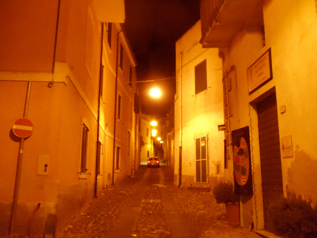 Orosei by night - Sardinia Village