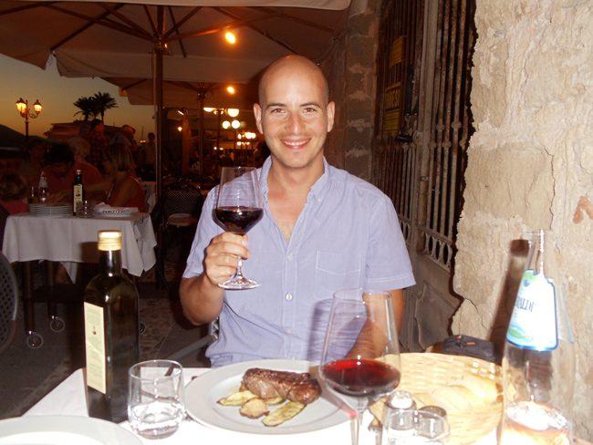 Osteria Macchiavello romantic dinner Alghero - Sardinia