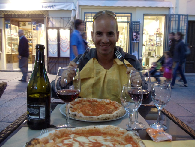 Pizza dinner - Alghero - Sardinia