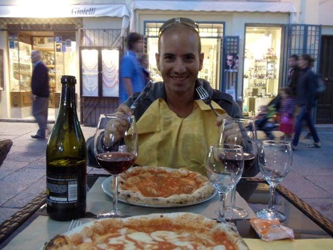 Pizza dinner - Alghero - Sardinia