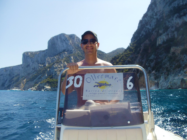 Renting motor boat for Orosei Beaches - Sardinia
