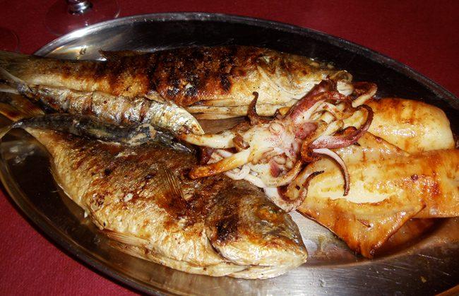 Romantic dinner Sardinia