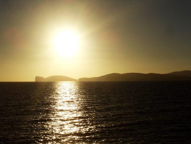Sunset in Alghero - Sardinia