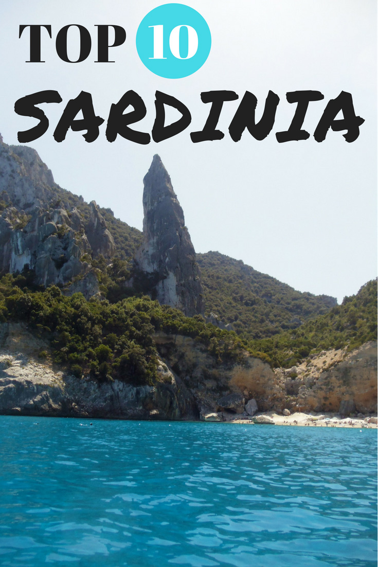 TOP 10 THINGS TO DO IN SARDINIA ITALY - PIN