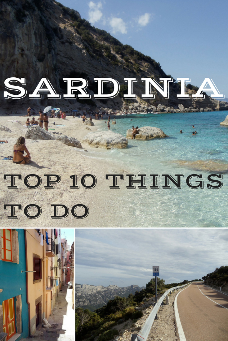TOP 10 THINGS TO DO IN SARDINIA - PIN