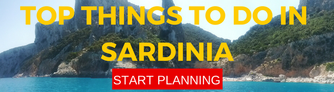 Top 10 things to do in Sardinia - banner