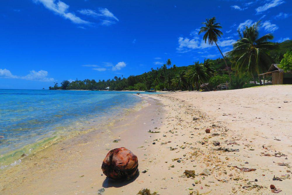 חוף בבורה בורה - פולינזיה הצרפתית