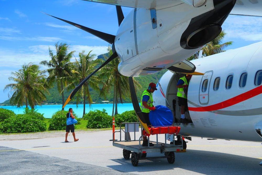 טיסת פנים אייר טהיטי - פולינזיה הצרפתית