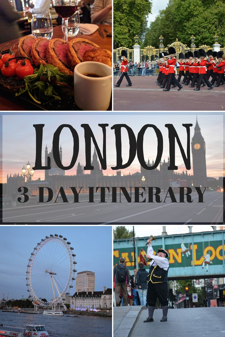 3 Days In London Pinnable Image