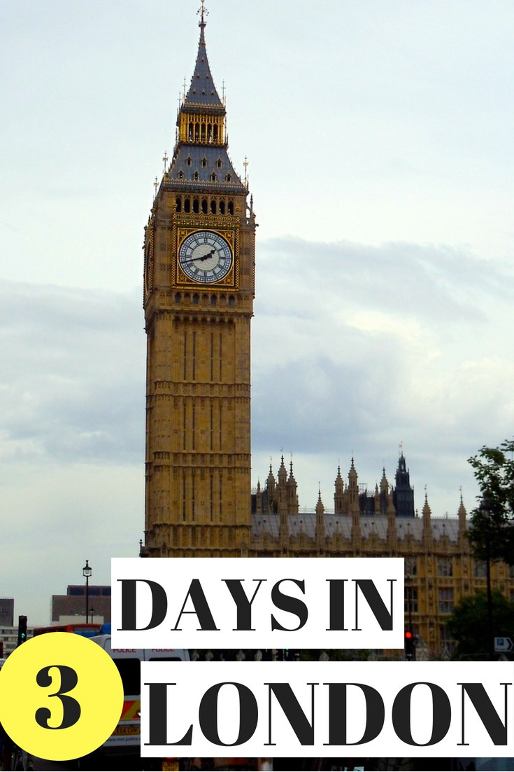 3 Days in London - Pinterest