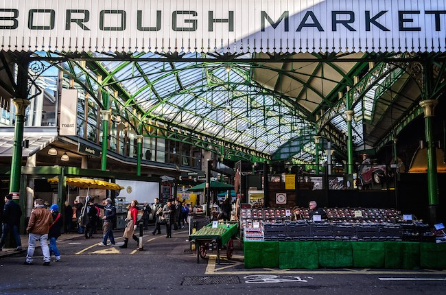 Borough Market London By Garry Knight