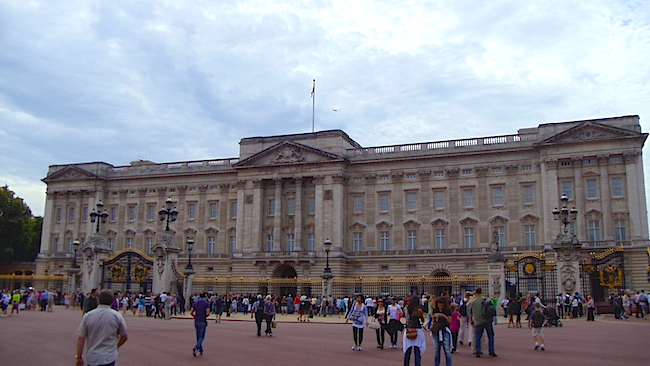 Buckingham Palace exterior - London