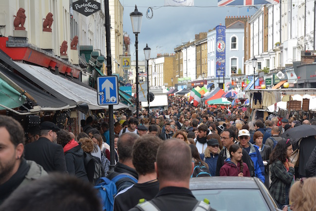 Portobello Road Market - London