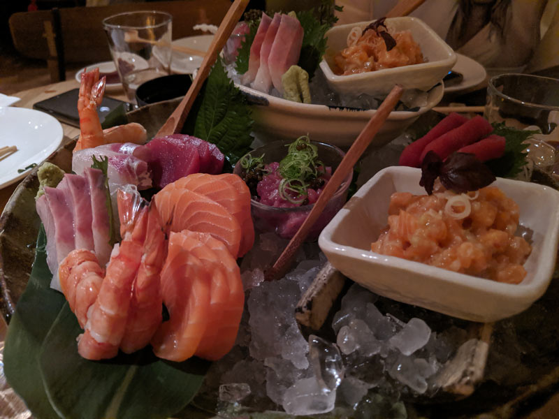 Roka London Restaurant - Sushi platter