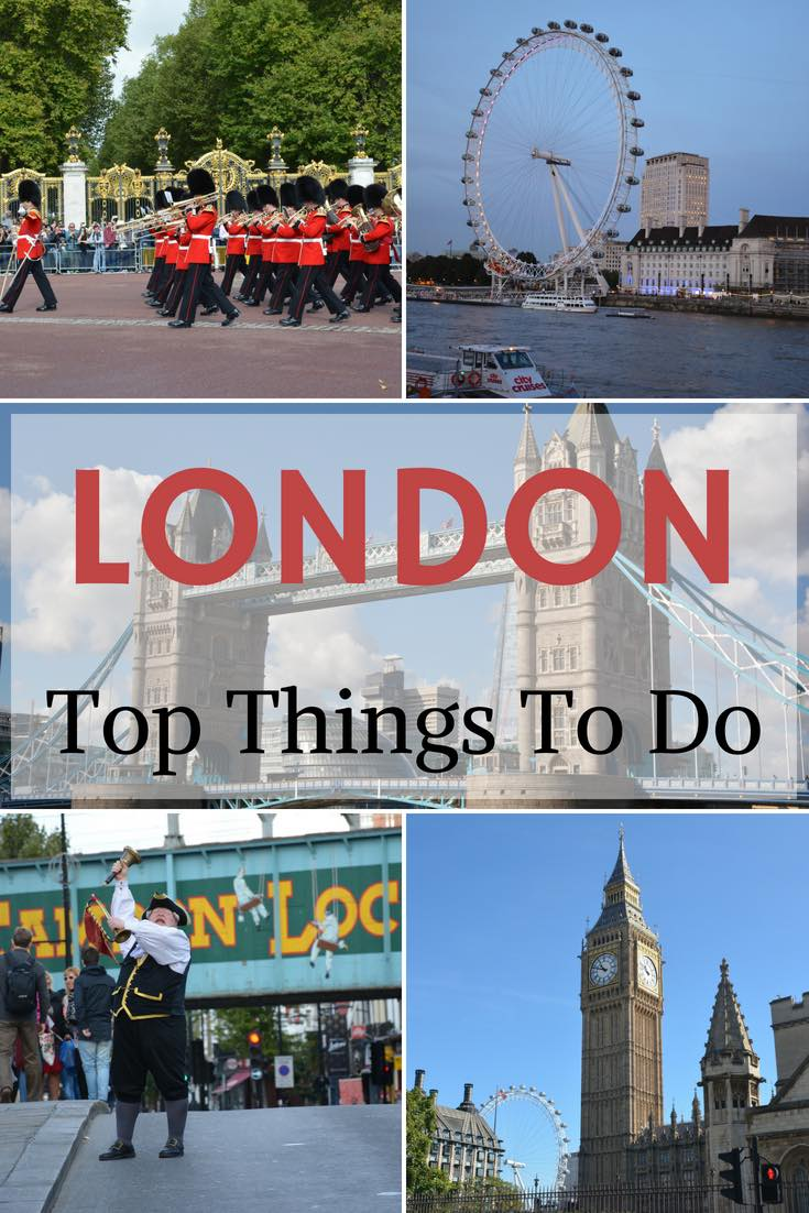 TOP 10 THINGS TO DO IN LONDON - PINNABLE IMAGE