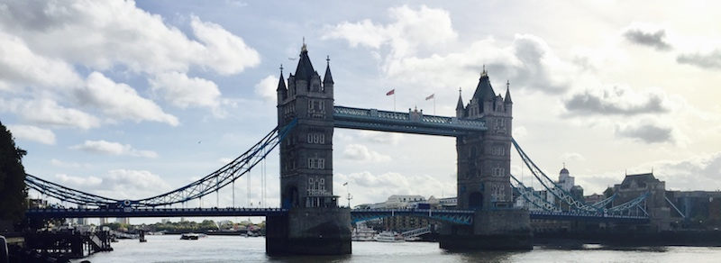 Tower Bridge London - Panoramic View