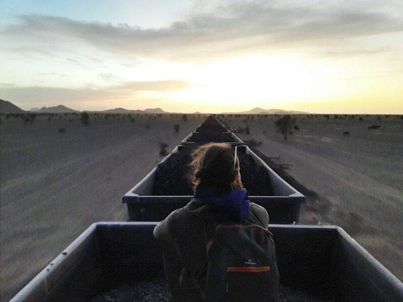 Mauritania Iron Ore Train - Vagabjorn