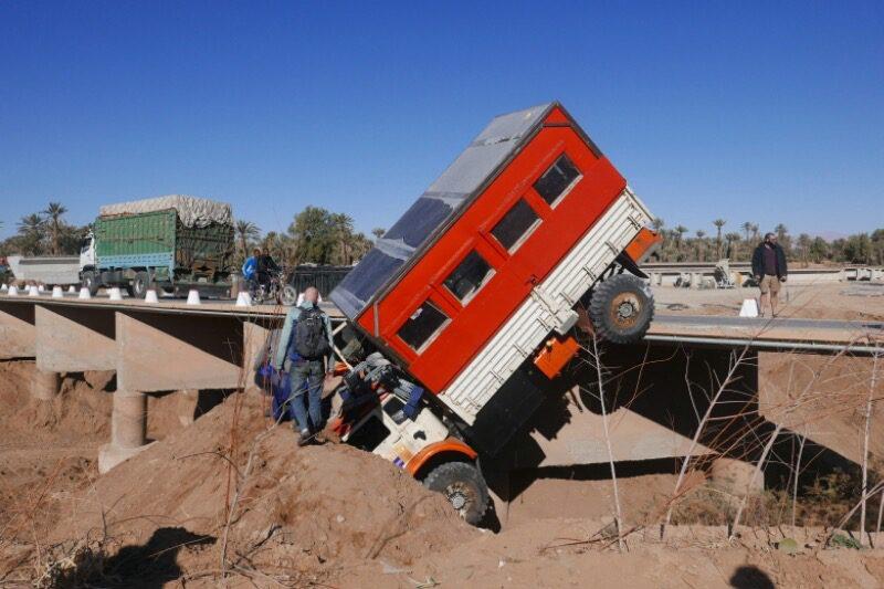 Morocco crash Vagabjorn