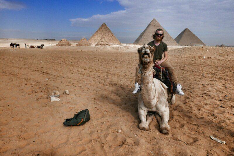 Pyramids of Giza - Vagabjorn