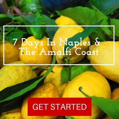 7 Days In Amalfi Coast itinerary - Pin