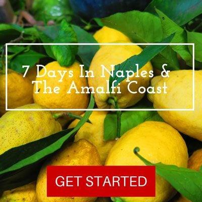 7 Days In Amalfi Coast itinerary - Pin