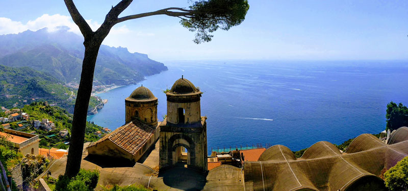 7 Days in Naples and the Amalfi Coast - Villa Rufolo Ravello panoramic view