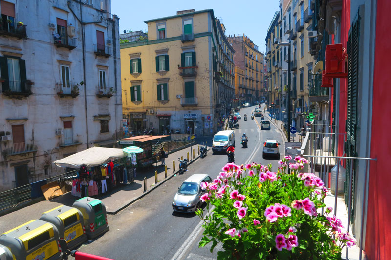 A Cassa di Mamma bed and breakfast in Naples - view