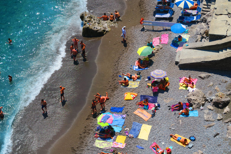 Atrani Beach Amalfi Coast