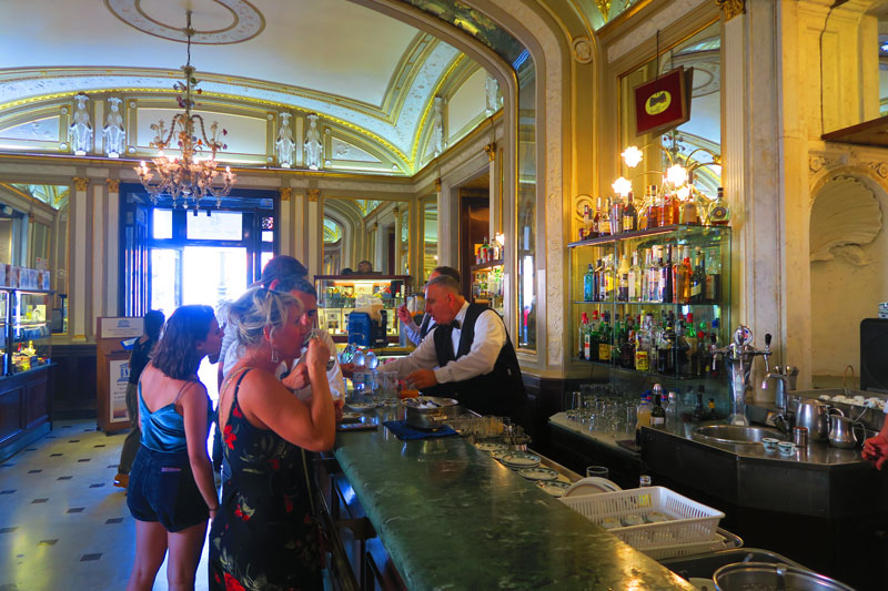 Gran Caffe Gambrinus - famous cafe in Naples