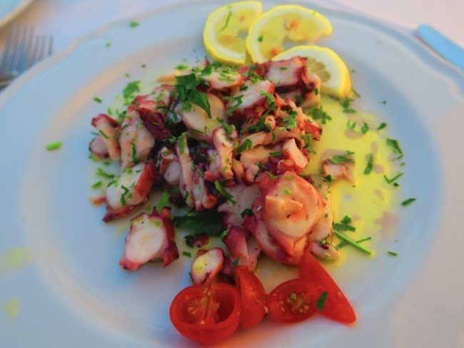 Le Bonta del Capo - best restaurant Amalfi - typical food
