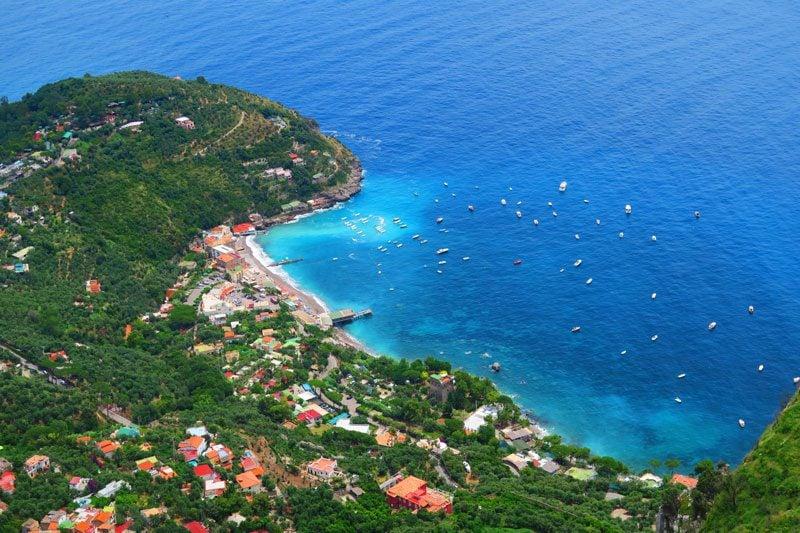 Monte S. Costanzo hike Termini Amalfi Coast