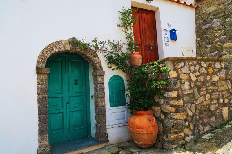 Nerano typical Amalfi Coast village