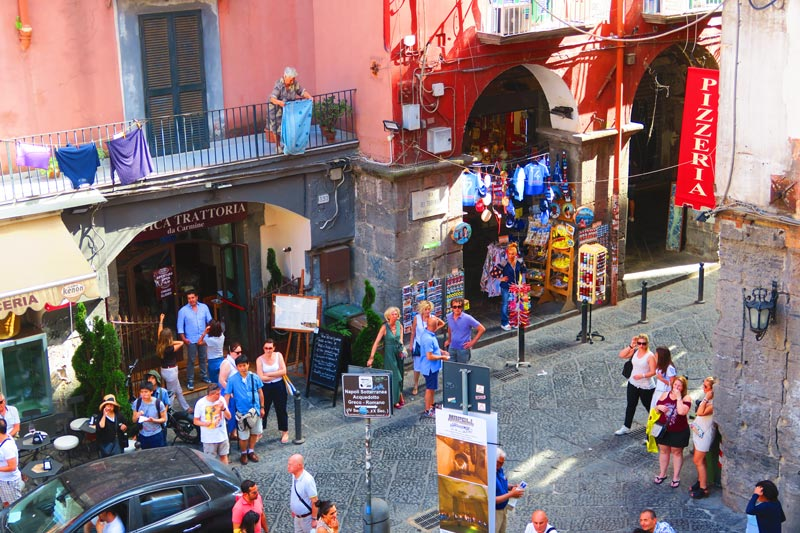 Piazza San Gaetano Naples old city