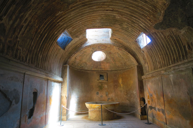 Pompeii interior of house