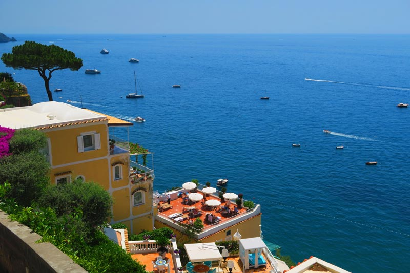 Positano luxury hotel