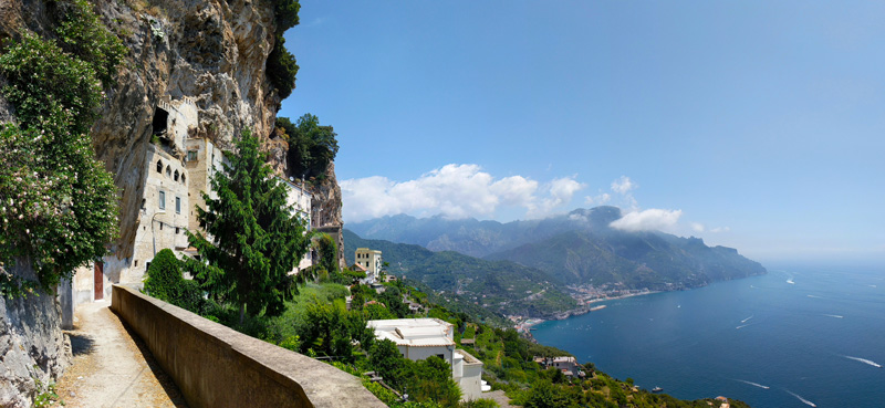 Ravello panoramic view