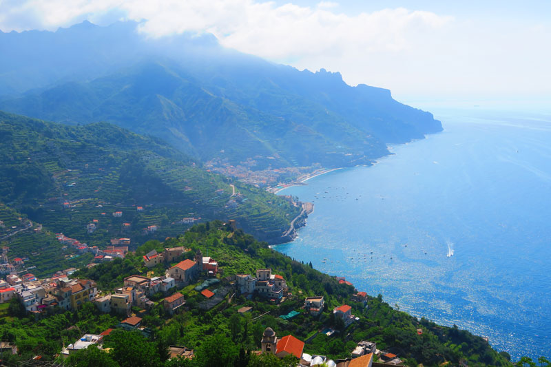 View from Ravello - Amalfi Coast