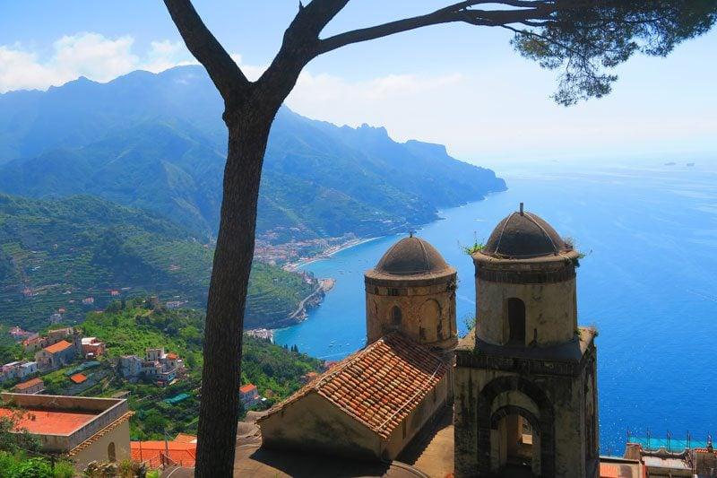 View from Villa Rufolo Ravello