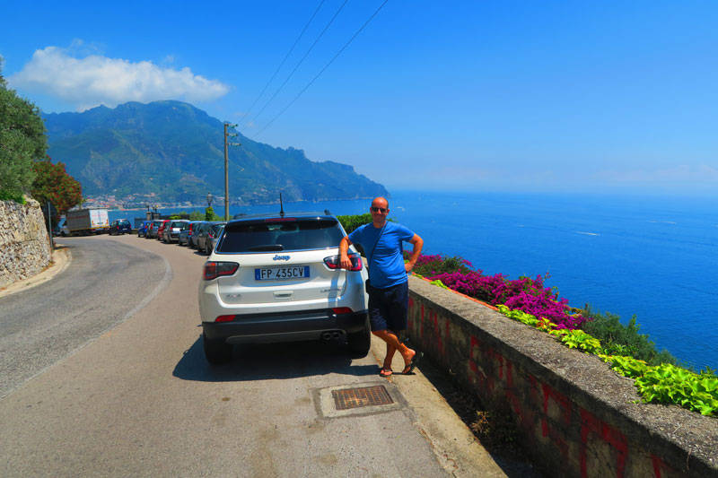 driving in Amalfi Coast getting around by car