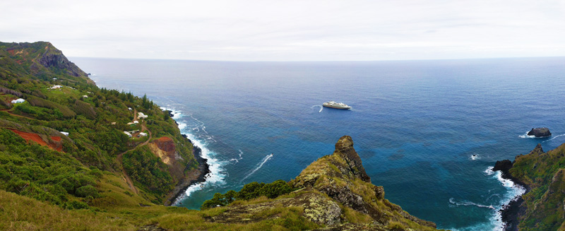 Adamstown-and-Bounty-Bay - Pitcairn Island