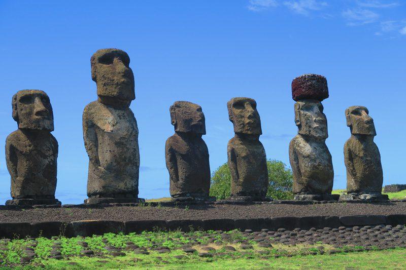 Ahu Tongariki statues